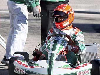 Шумахер вернулся за руль гоночной машины