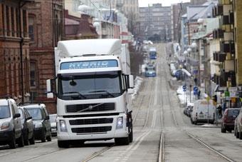 Volvo выпустит гибридные грузовики