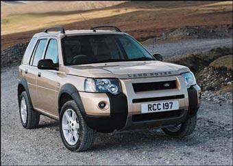 Land Rover отзывает 33 тысячи вседорожников Freelander