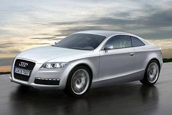 Купе Audi A5 появится в 2007 году