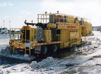 Столичные власти остались довольны работой мобильных снеготаялок