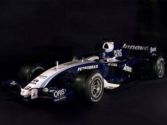 Williams представил свой новый болид с мотором Toyota