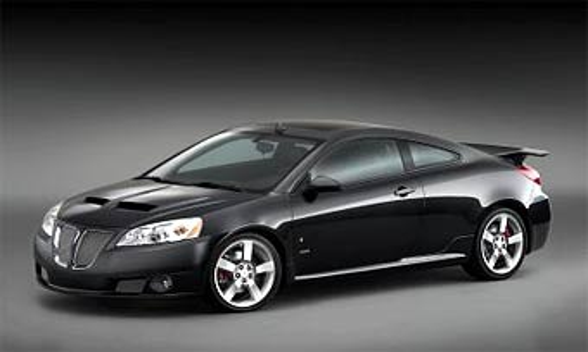 Pontiac покажет в Нью-Йорке прототип нового купе