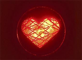 В Таллинне появятся светофоры в виде сердец
