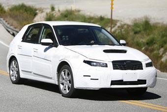 Новое поколение Subaru Impreza проходит тесты