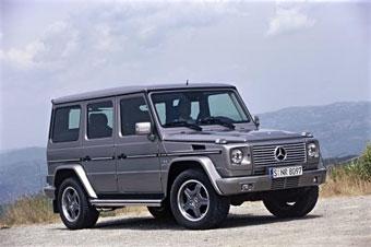 DaimlerChrysler представил 500-сильный G 55 AMG