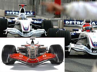 BMW скопировала инновационную аэродинамику McLaren