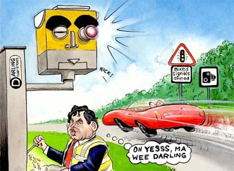 На Минском шоссе установят автоматические измерители скорости