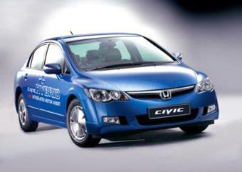 Гибридный Honda Civic оказался экологически чище Toyota Prius