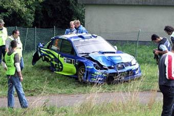 Машину Сольберга успели починить