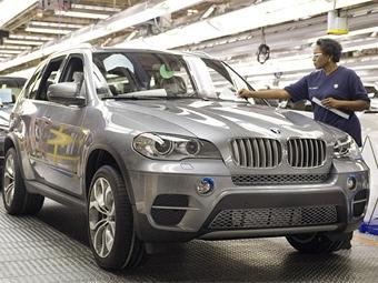 Американским заводам BMW грозит остановка из-за вулканической пыли