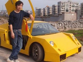 Китаец построил автомобиль за три тысячи долларов