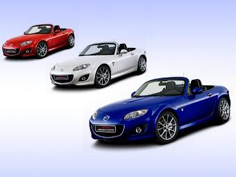 Компания Mazda подготовила для европейцев спецверсию родстера MX-5