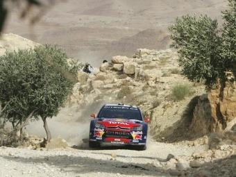 Себастьен Леб показал лучшее время на шейкдауне в Иордании