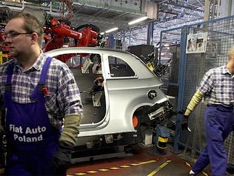Рабочие Fiat проведут предупредительную забастовку