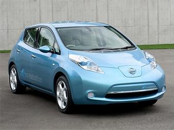 Nissan потратит 1,4 миллиарда долларов на запуск в производство электромобиля