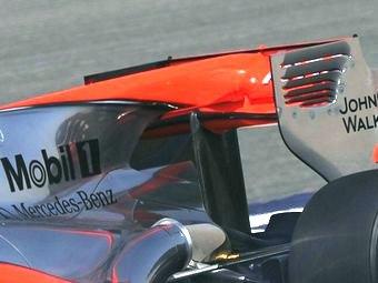 Команда Формулы-1 Sauber скопировала антикрыло McLaren
