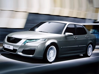 В Пекине компания BAW покажет свой вариант Saab 9-5