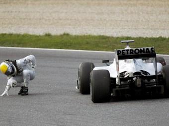 К гонке в Барселоне Mercedes GP подготовит новый болид