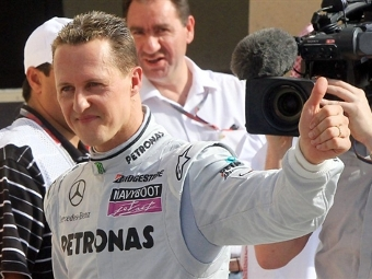 Шумахер стал самым популярным гонщиком Формулы-1
