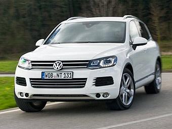 VW Touareg может лишиться полного привода