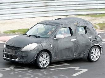 Новый Suzuki Swift приступил к тестам