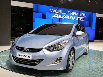 В Южной Корее дебютировала новая Hyundai Elantra