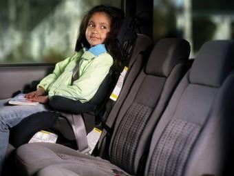 Дети предпочитают ездить с мамами