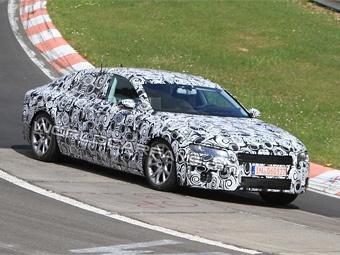Четырехдверное купе Audi приступило к тестам на Нюрбургринге