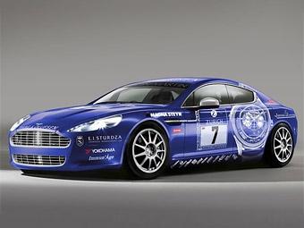 Спортседан Aston Martin Rapide отправится на 24-часовые гонки