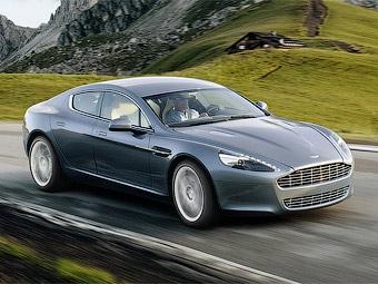 Aston Martin привез модель Rapide в Москву