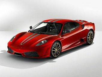 В Москве владелец суперкара Ferrari F430 Scuderia не справился с плохой дорогой