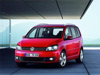 Концерн VW официально представил обновленный компактвэн Touran