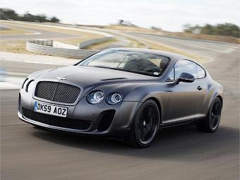 Автомобили Bentley Continental смогут работать на биотопливе