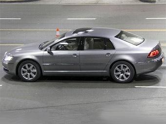 Появились шпионские фотографии обновленного VW Phaeton