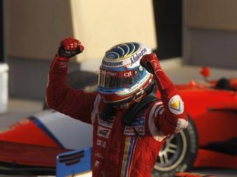 Последний этап GP2 Asia выиграли итальянцы