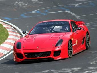 Суперкар Ferrari 599XX установил новый рекорд Нюрбургринга