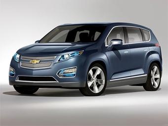 Экспериментальный компактвэн Chevrolet переделали в гибрид