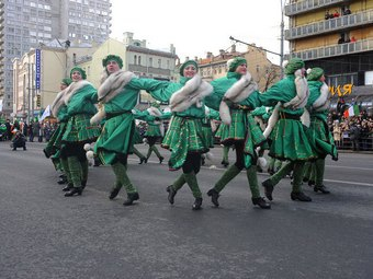 Из-за празднования Дня Святого Патрика в Москве ограничат движение