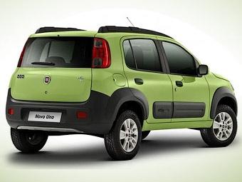 Появились фотографии новой малолитражки Fiat