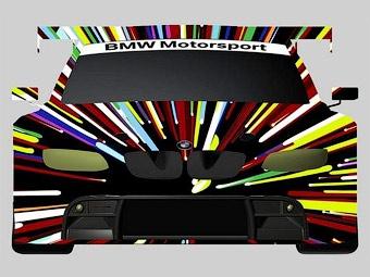 Американский художник разукрасил гоночный BMW M3