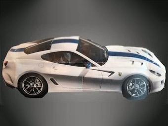 """Появилось первое изображение """"заряженной"""" версии Ferrari 599 GTB Fiorano"""