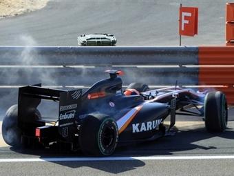 Руководство команды HRT раскритиковало болиды Dallara