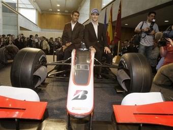 "Команда ""Формулы-1"" Hispania Racing показала свой болид"