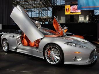Компания Spyker перенесла производство в Великобританию