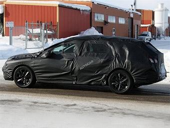 Начались испытания универсала Peugeot 508