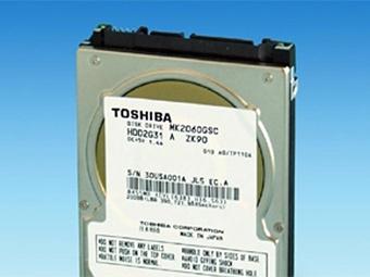 Компания Toshiba разработала жесткий диск для автомобилей