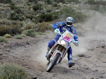 Давид Касто сохранил лидерство в зачете мотоциклов