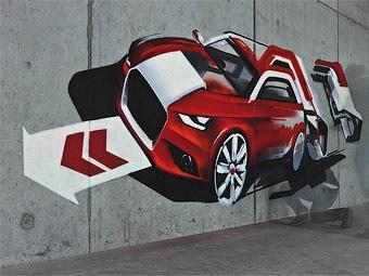 """""""Заряженную"""" версию хэтчбека Audi A1 покажут в октябре"""