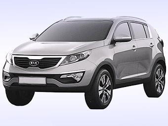 Появились изображения нового Kia Sportage